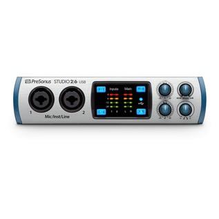 PreSonus Studio 2/6 Audio Interface main