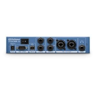 PreSonus Studio 6/8 Audio Interface rear