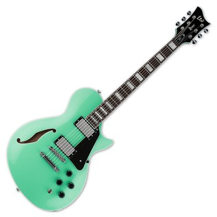 ESP LTD PS-1 Xtone Series Semi-Hollow Electric Guitar, Sea Foam Green