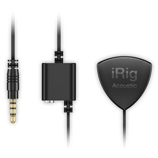 IK Multimedia iRig Acoustic Stage Preamp - Mic With Cables