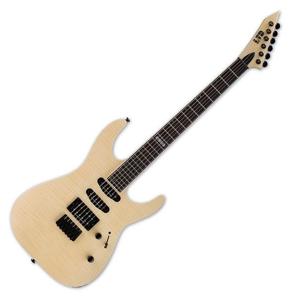 ESP LTD M-403HT Electric Guitar, Satin Flame Maple
