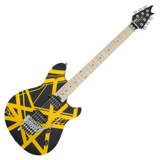 EVH Wolfgang Special Maple, Black and Yellow