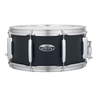 Pearl 14 x 6.5 Modern Utility Snare Drum, Matte Black