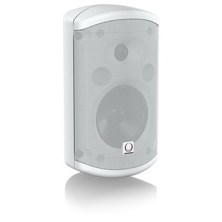 "Turbosound IMPACT TCI52-TR-WH 2 Way 5"" Full Range Loudspeaker, White - Angled"