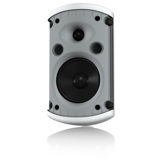 Turbosound IMPACT TCI52-TR-WH 2 Way 5-Inch PA Speaker - Angled Open