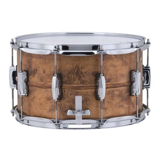 Ludwig Copperphonic Raw Snare Drum, Left Side