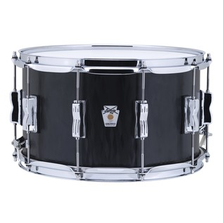 Ludwig 14'' x 8'' Ltd Edition Black Flame Maple Snare Drum, Front