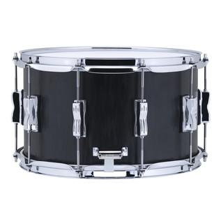 Ludwig Ltd Edition Black Flame Maple Snare Drum, Left Side