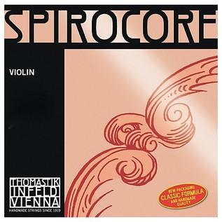 Thomastik Spirocore 4/4 Violin E String, Chrome Wound
