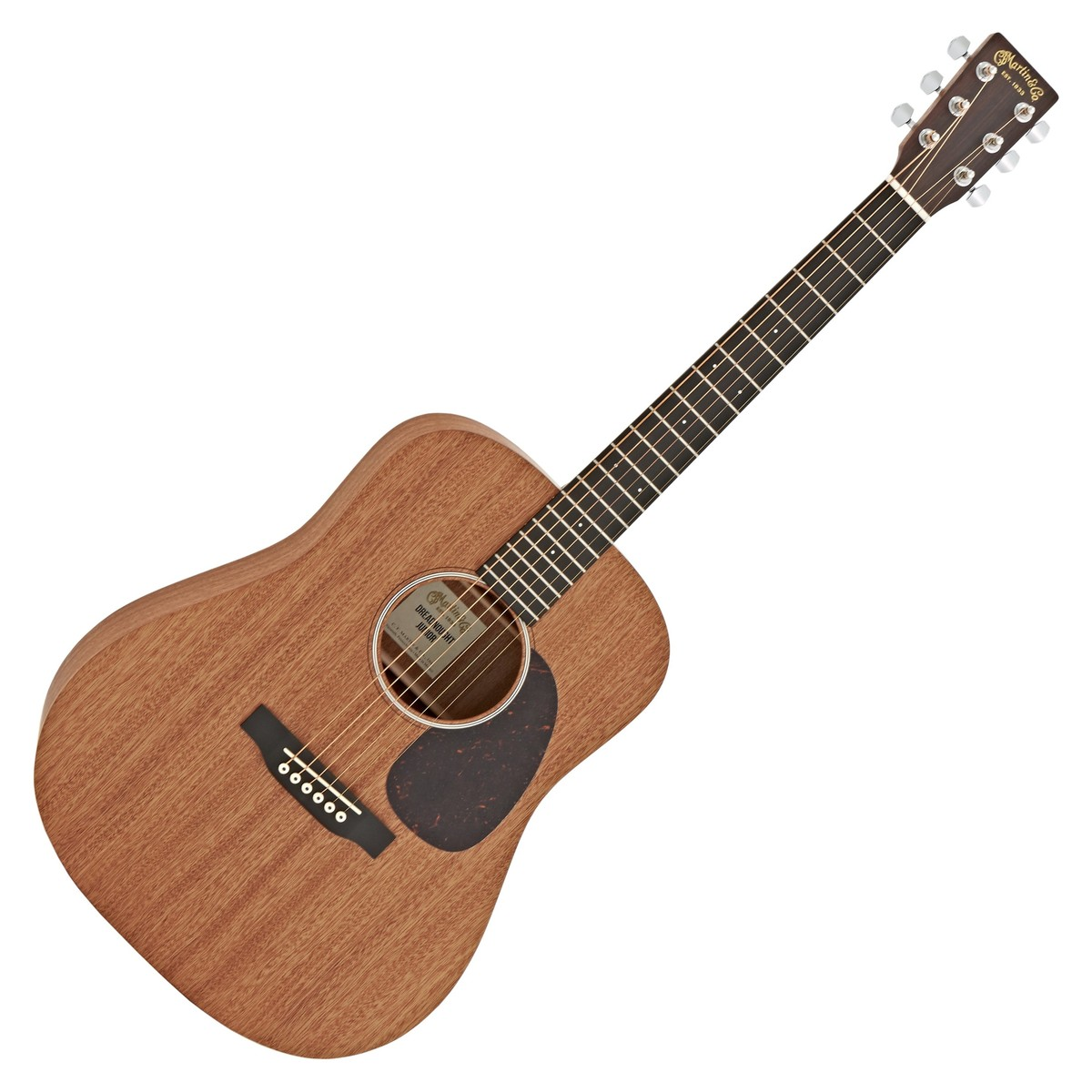 martin dreadnought jr 2 electro acoustic guitar sapele at gear4music. Black Bedroom Furniture Sets. Home Design Ideas