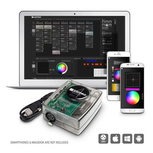 Cameo DVC 4 DMX Interface and Controller Software