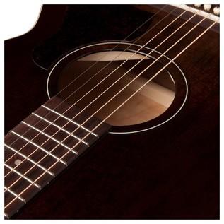 Art & Lutherie Legacy Concert Hall Guitar, Bourbon Burst