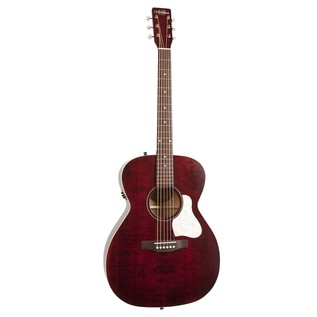 Art & Lutherie Legacy Electro Acoustic Guitar, Red
