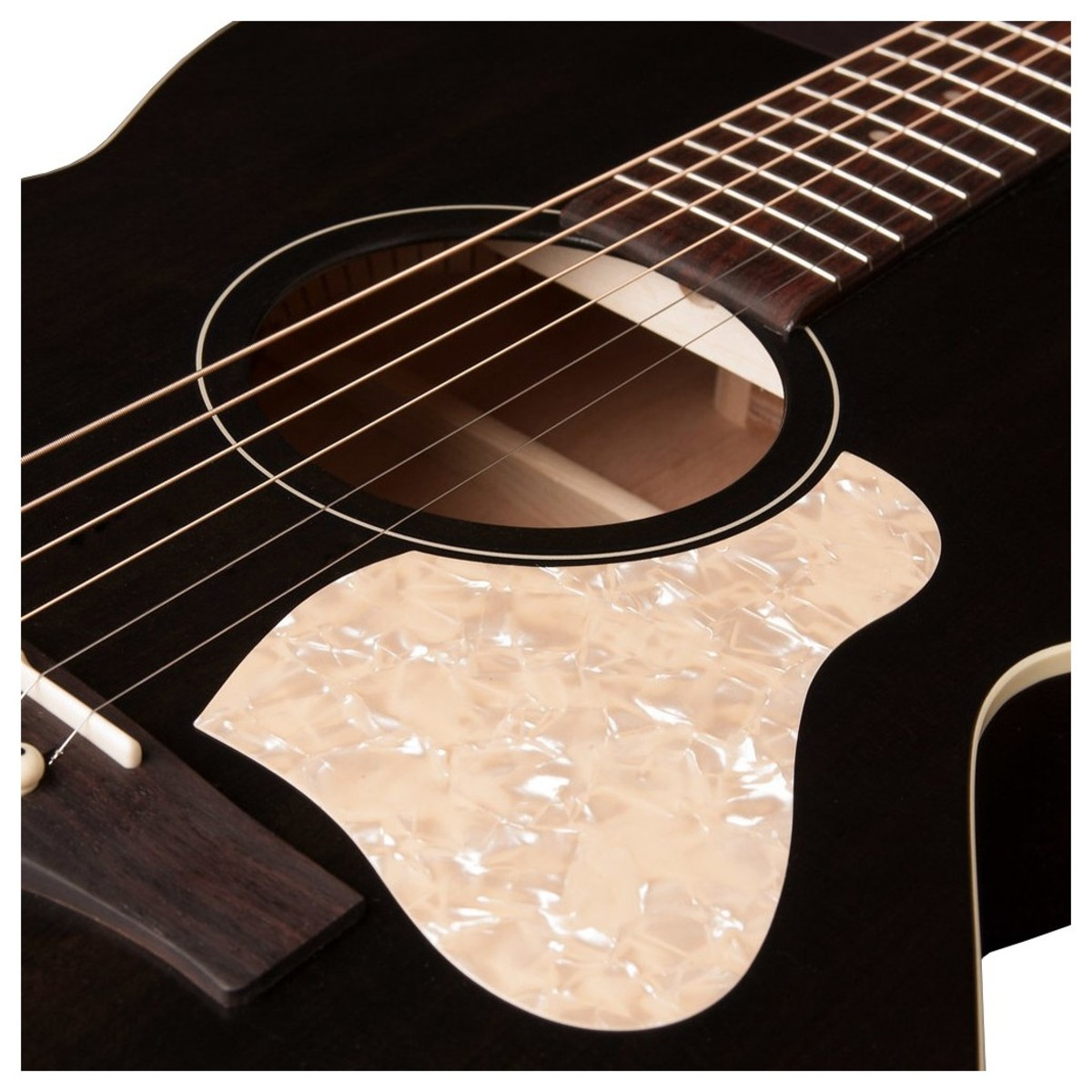 art lutherie legacy electro acoustic guitar faded black at gear4music