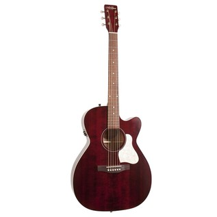 Art & Lutherie Legacy Cutaway Electro Acoustic Guitar, Red