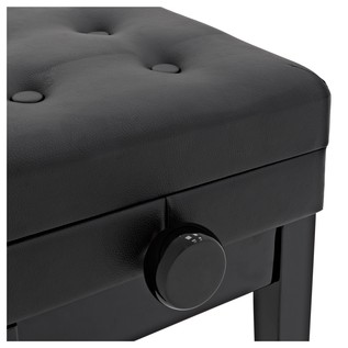 Deluxe Duet Piano Stool by Gear4music