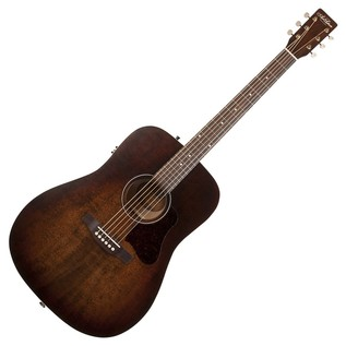 Art & Lutherie Americana Electro Acoustic Guitar, Bourbon Burst