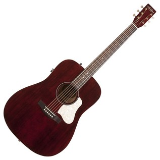 Art & Lutherie Americana Electro Acoustic Guitar, Tennessee Red