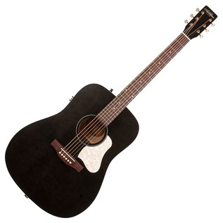 Art & Lutherie Americana Electro Acoustic Guitar, Faded Black