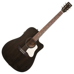 Art & Lutherie Americana Cutaway Electro acoustic Guitar, Faded Black