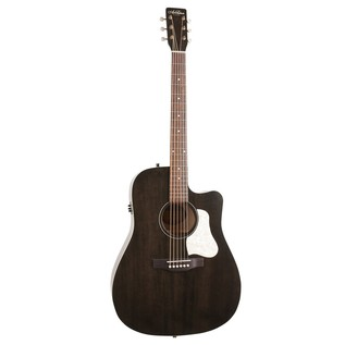 Art & Lutherie Americana Cutaway Electro acoustic Guitar, Black