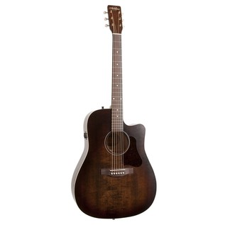Art & Lutherie Americana Cutaway Electro Acoustic Guitar, Bourbon