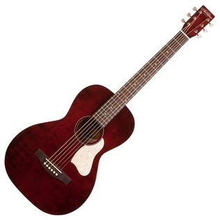 Art & Lutherie Roadhouse Electro Acoustic Guitar, Tennessee Red