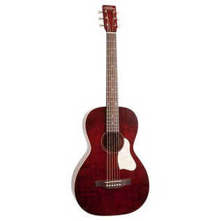 Art & Lutherie Roadhouse Electro Acoustic Guitar, Red