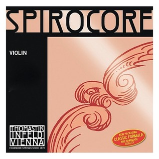 Thomastik Spirocore 4/4 Violin String Set