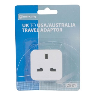 Mercury UK to USA Travel Adaptor