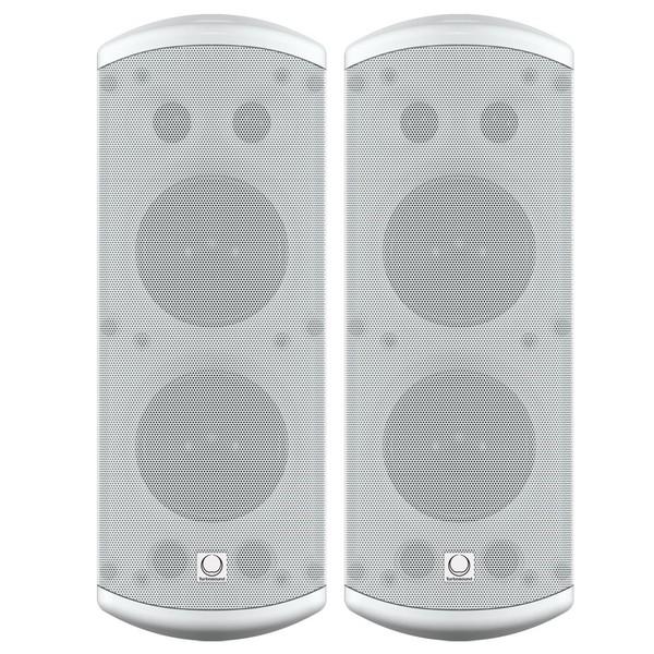 "Turbosound IMPACT TCI53-T 5"" Full Range Loudspeakers (Pair), White - Pair"