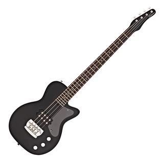 Silvertone 1444 Razor Bass Guitar, Black