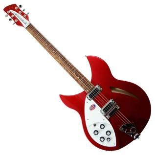 Rickenbacker 330 Semi Acoustic Guitar, Ruby Red, Left-Hand main