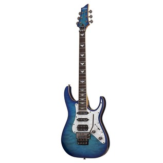 Schecter Banshee-6 FR Extreme Electric Guitar, Ocean Blue