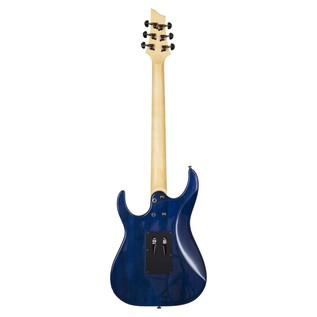 Schecter Banshee-6 FR Extreme Electric Guitar, Blue Burst