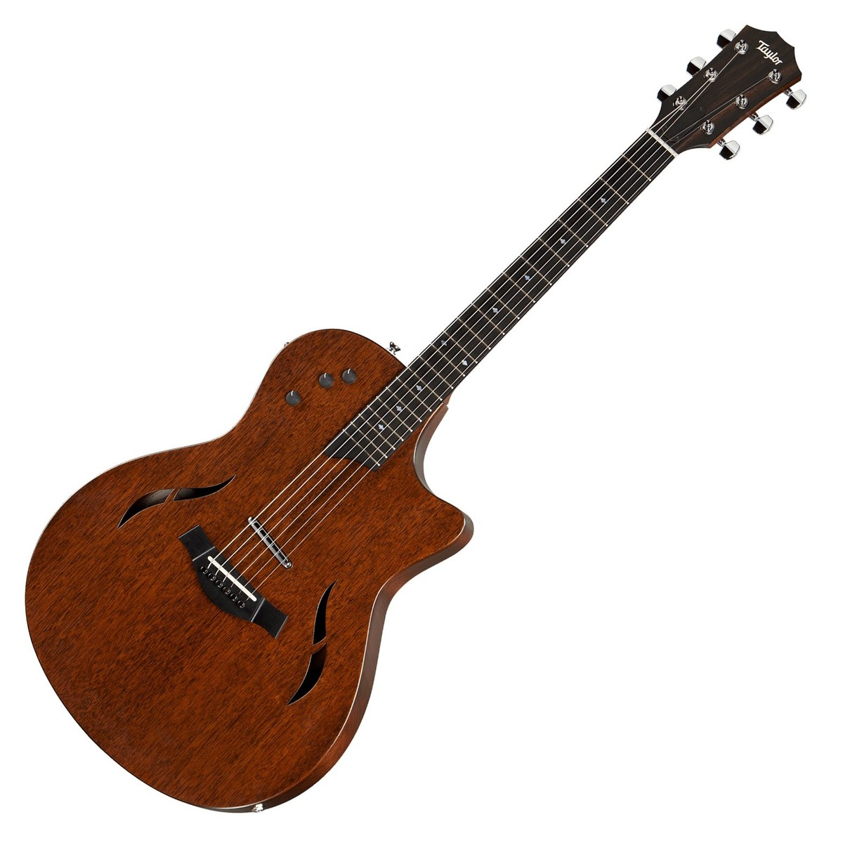 taylor t5 classic mahogany hollowbody electric guitar natural at. Black Bedroom Furniture Sets. Home Design Ideas