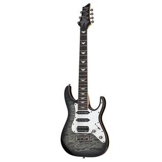 Schecter Banshee-7 Extreme Electric Guitar, Grey Burst