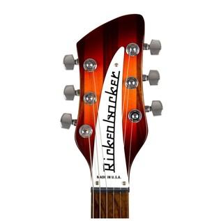 Rickenbacker 360 Fireglo headstock