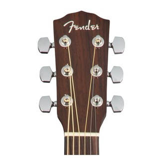 Fender CD-140SCE Dreadnought Electro Acoustic Headstock