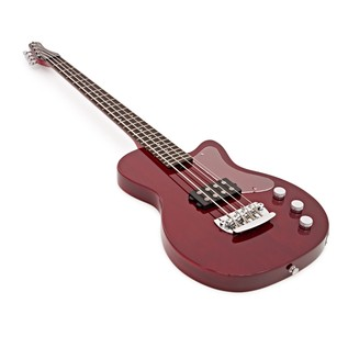 Silvertone 1444 Razor Bass Guitar, Red