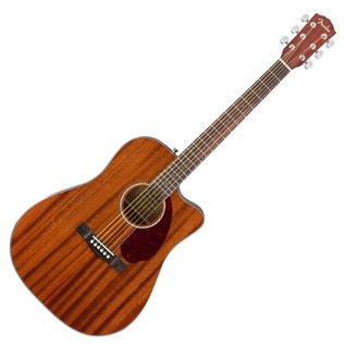 Fender CD-140SCE Mahogany Electro Acoustic Guitar, Natural