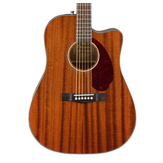 Fender CD-140SCE Mahogany Electro Acoustic Guitar, Natural Close