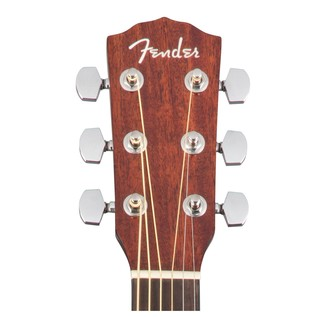 Fender CD-140SCE Mahogany Electro Acoustic Guitar, Natural Headstock