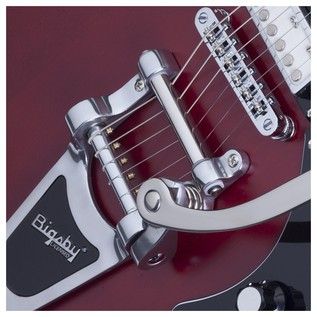 Schecter T S/H-1B Hollowbody Bigsby Bridge Cherry Pearl