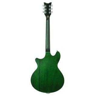 Schecter T S/H-1B Hollowbody Guitar, Emerald Green