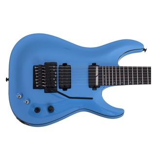 Keith Merrow KM-7 FR Sustainiac Electric Guitar, Lambo Blue