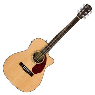 Fender CC-140SCE Concert Electro Acoustic Guitar, Natural