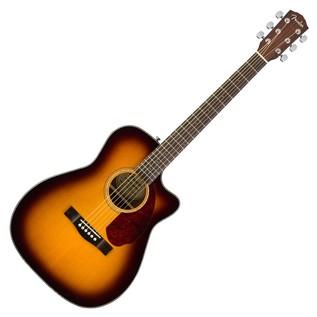 Fender CC-140SCE Concert Electro Acoustic Guitar, Sunburst