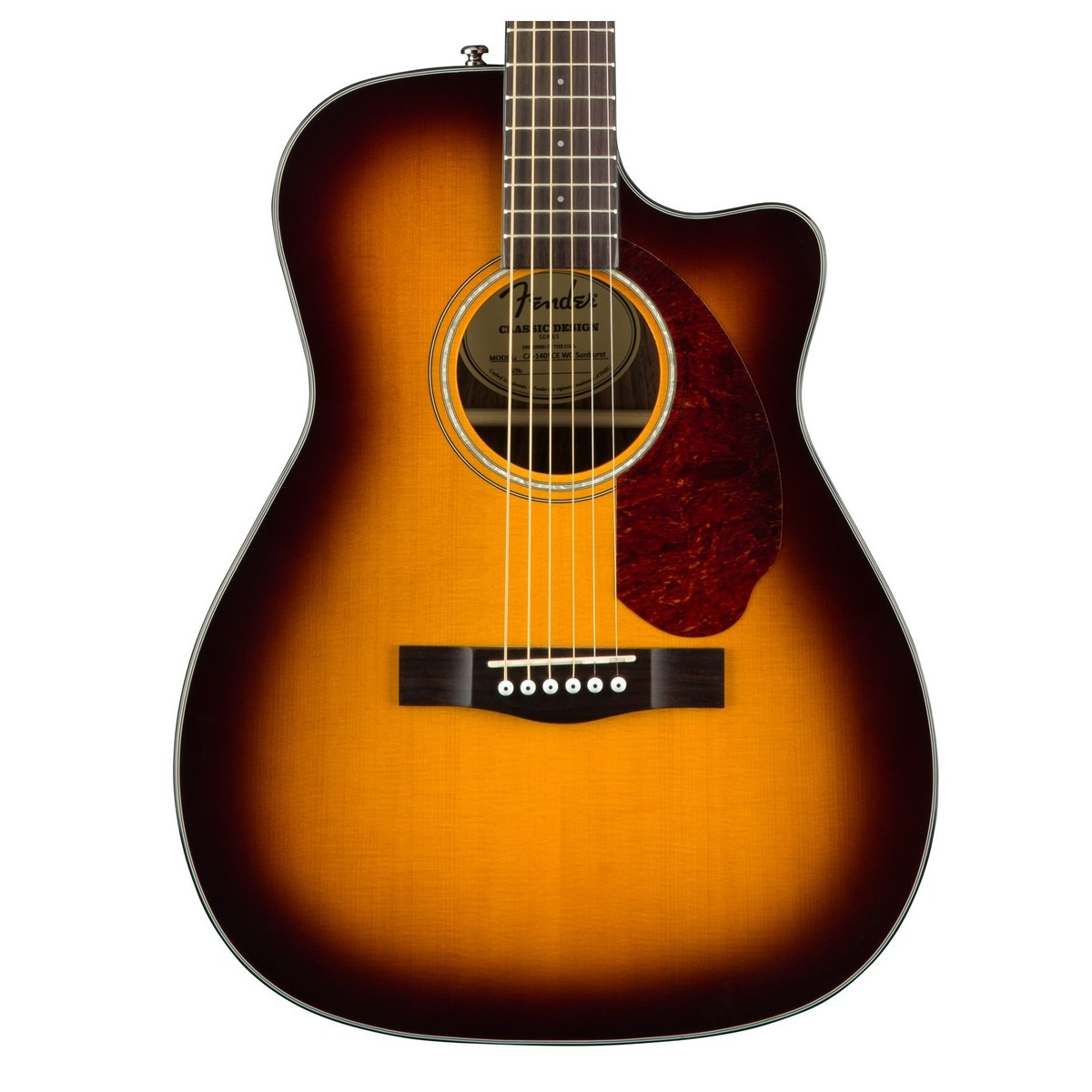 fender cc 140sce concert guitare electro acoustique. Black Bedroom Furniture Sets. Home Design Ideas