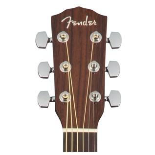 Fender CC-140SCE Concert Electro Acoustic Guitar, Sunburst Headstock